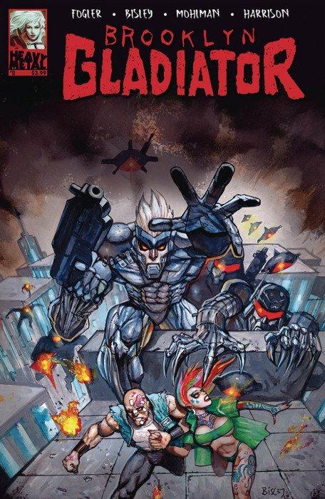 Brooklyn Gladiator #1 VF//NM Comics Book