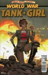 Titan Comics's Tank Girl: World War Tank Girl Issue # 3c