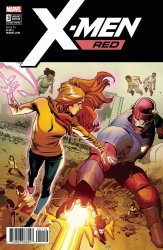 Marvel Comics's X-Men: Red Issue # 3 - 2nd print