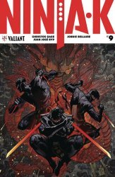 Valiant Entertainment's Ninja-K Issue # 9d