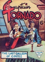L. Miller & Son's Captain Tornado Issue # 74