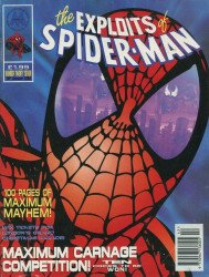Marvel UK's Exploits of Spider-Man Issue # 27