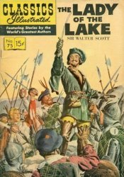 Gilberton Publications's Classics Illustrated #75: The Lady of the Lake Issue # 5