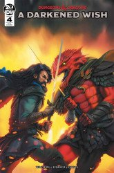 IDW Publishing's Dungeons & Dragons: A Darkened Wish Issue # 4ri-a