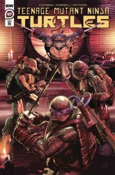 IDW Publishing's Teenage Mutant Ninja Turtles Issue # 107ri