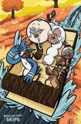 KaBOOM!'s Regular Show: Skips Issue # 6c