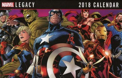 Marvel Comics's Marvel Now!: Calendars Issue # 2018