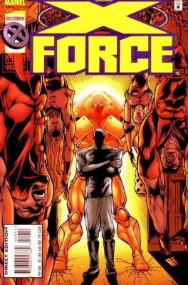 X-force comic 59 marvel superhero avengers x men