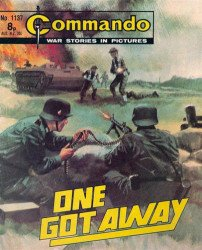 D.C. Thomson & Co.'s Commando: War Stories in Pictures Issue # 1137