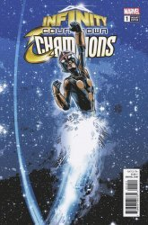 Marvel Comics's Infinity Countdown: Champions Issue # 1b