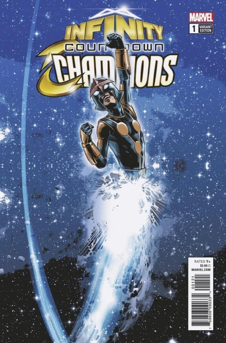 Infinity Countdown Champions #2 VF 2018 Stock Image