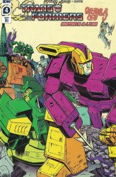 IDW Publishing's Transformers '84 Issue # 4ri