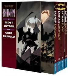 DC Comics's Batman by Scott Snyder and Greg Capullo Soft Cover Box Set 3