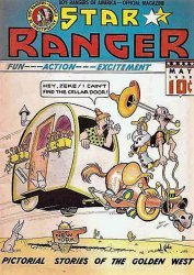 Centaur Publications's Star Ranger Issue # 12
