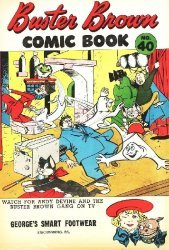 Buster Brown Shoes's Buster Brown Comics Issue # 40georges