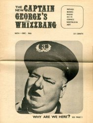 Memory Lane Publications's New Captain George's Whizzbang Issue # 1