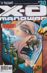 Valiant Entertainment's X-O Manowar Issue # 30