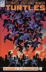 IDW Publishing's Teenage Mutant Ninja Turtles Issue # 77