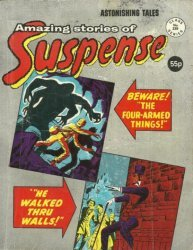 Alan Class & Company's Amazing Stories of Suspense Issue # 239