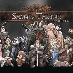 Antarctic Press's Shame of Thrones Soft Cover # 1