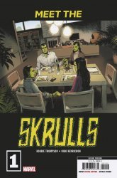Marvel Comics's Meet the Skrulls Issue # 1 - 2nd print