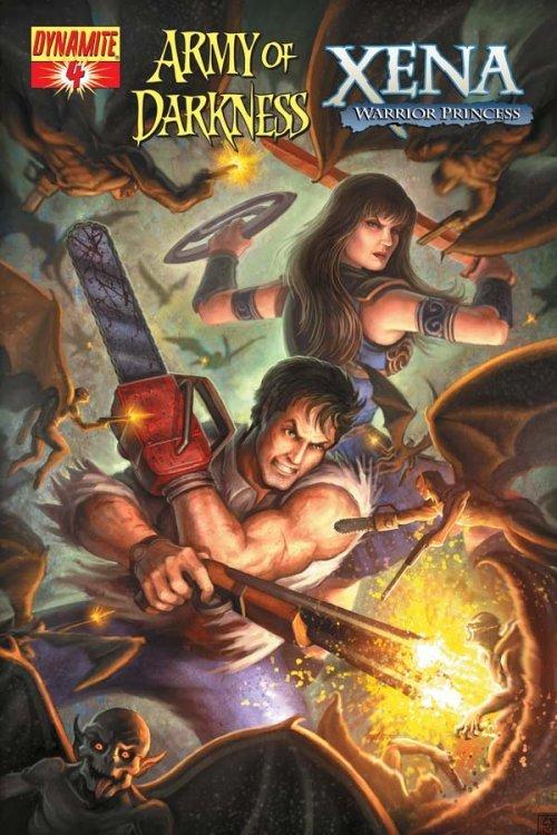 Army Of Darkness Xena Warrior Princess #4B Dynamite NM