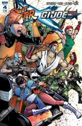 IDW Publishing's Street Fighter x G.I. Joe Issue # 4