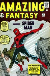 Marvel Comics's Amazing Fantasy Issue # 15
