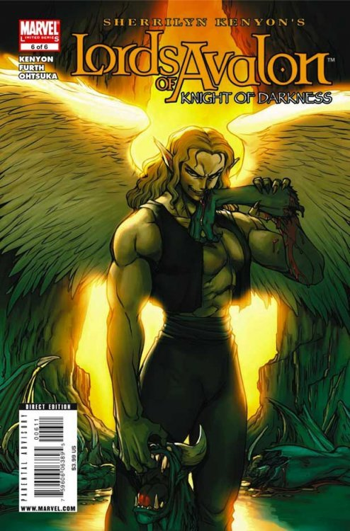 Marvel Comicss Lords Of Avalon Knights Darkness Issue 6