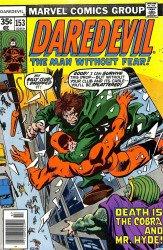 Marvel Comics's Daredevil Issue # 153