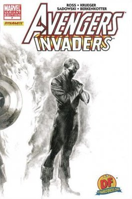 Marvel Comicss Avengers Invaders Issue 7dynamic Forces