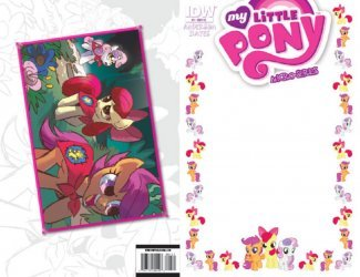IDW Publishing's My Little Pony Micro-Series Issue # 7blank