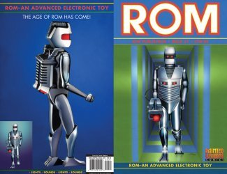 IDW Publishing's ROM Issue # 1re-painted vis