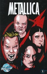 Bluewater Productions's Orbit: Metallica Issue # 1b