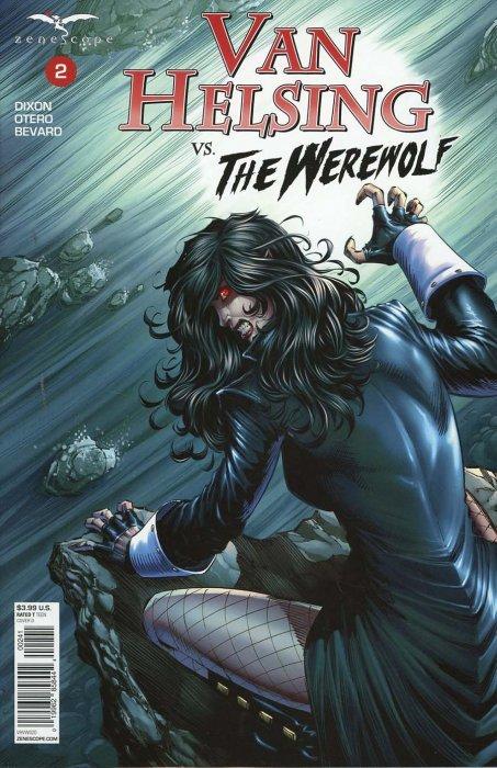 Grimm Fairy Tales Van Helsing vs The Werewolf 5 Cover D