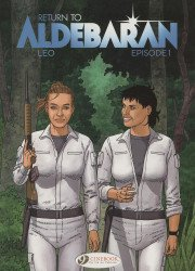 Cinebook's Return To Aldebaran Soft Cover # 1