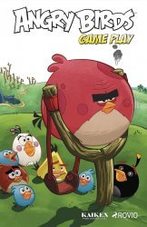 IDW Publishing's Angry Birds Comics: Game Play Hard Cover # 1