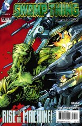 DC Comics's Swamp Thing Issue # 35