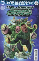 DC Comics's Hal Jordan and the Green Lantern Corps Issue # 2