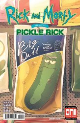 Oni Press's Rick and Morty Presents: Pickle Rick Issue # 1c