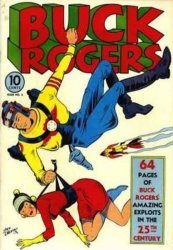 Famous Funnies's Buck Rogers Issue # 2