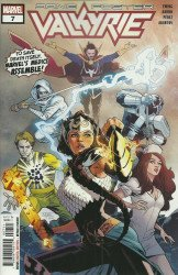 Marvel Comics's Valkyrie: Jane Foster Issue # 7
