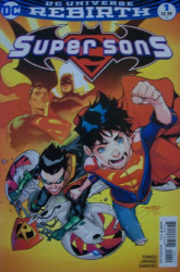 DC Comics's Super Sons Issue # 1c