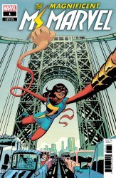Marvel Comics's Magnificent Ms. Marvel Issue # 1b