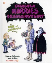 Papercutz's Dracula Marries Frankenstein Soft Cover # 1