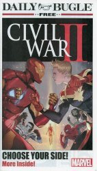 Marvel's Civil War II: Daily Bugle Newspapers Issue # 1