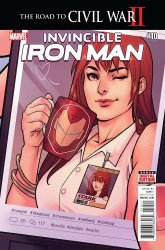Marvel's Invincible Iron Man Issue # 10