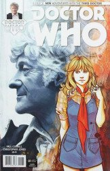 Titan Comics's Doctor Who: 3rd Doctor Issue # 1 loot crate