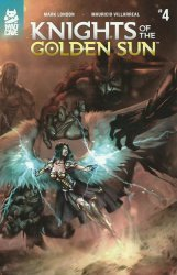 Mad Cave Studios's Knights of the Golden Sun Issue # 4