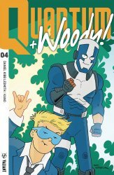 Valiant Entertainment's Quantum & Woody Issue # 4f